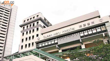 瑪麗醫院完成全港首宗植入新式「左心室體外人工心臟輔助器」的手術。(吳啟偉攝)