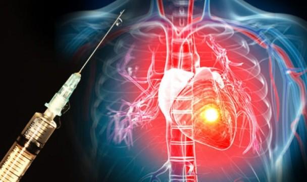 注射天然蛋白入心臟病患者身上,可修補受損心臟組織。(互聯網圖片)