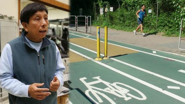 浸大體育學系副教授雷雄德稱通波仔病人可透過跑步復康,但一般在室內跑步機進行。