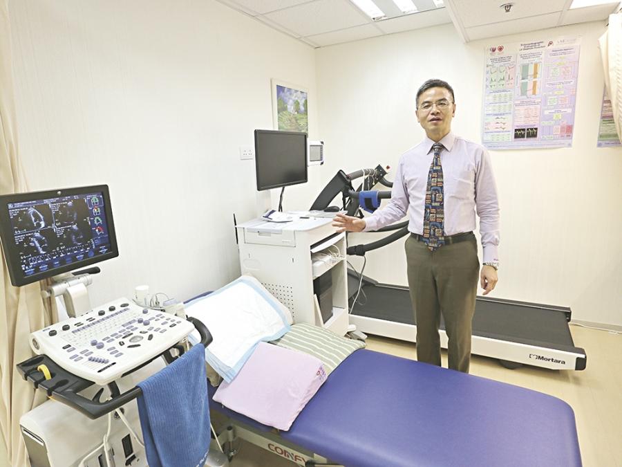 ▼梁國輝醫生指出,約兩至三成糖尿病患者同時患有心臟病。