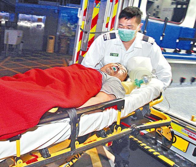 ■死者飲酒後突然暈倒,送院搶救後證實不治。