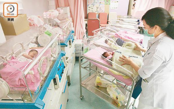 本港每年有約六百宗初生嬰兒先天性心臟病新症。(資料圖片)