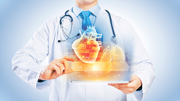 21449200 – Close Up Of Doctor S Body With Tablet Pc In Hands