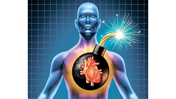 房顫令血液滯留在心房,導致血塊形成,有如隱形炸彈。