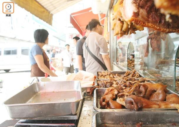 以豬頭肉製作的小吃在內地大受歡迎,惟營養師指長期食用或損健康。