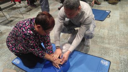 2018-02-07 CPR及AED証書訓練課程