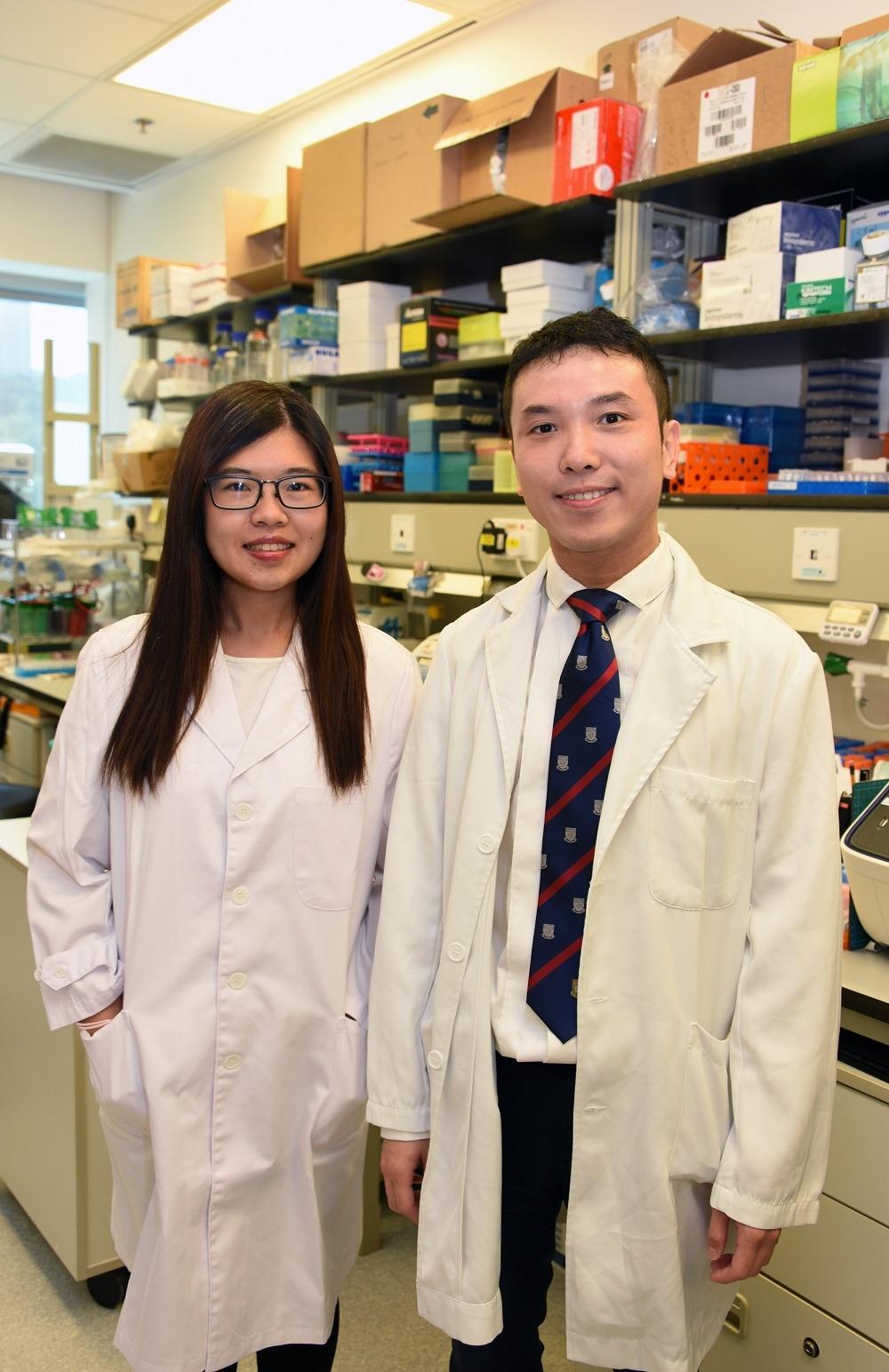 港大醫學院藥理及藥劑學系與哈佛醫學院合作研究。