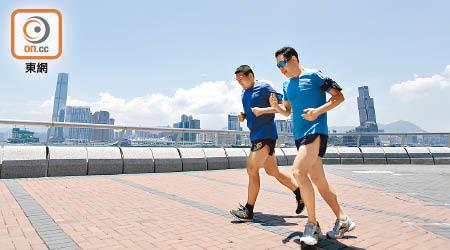 研究指出中年人多運動有助護心同時抗抑鬱。