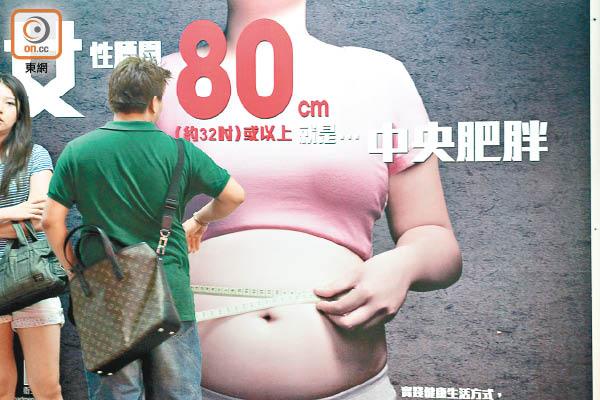 有中央肥胖等心臟病高風險因素的人,患柏金遜症機會也會增加。