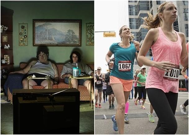 研究顯示,不做運動的人健康風險較高。(互聯網)