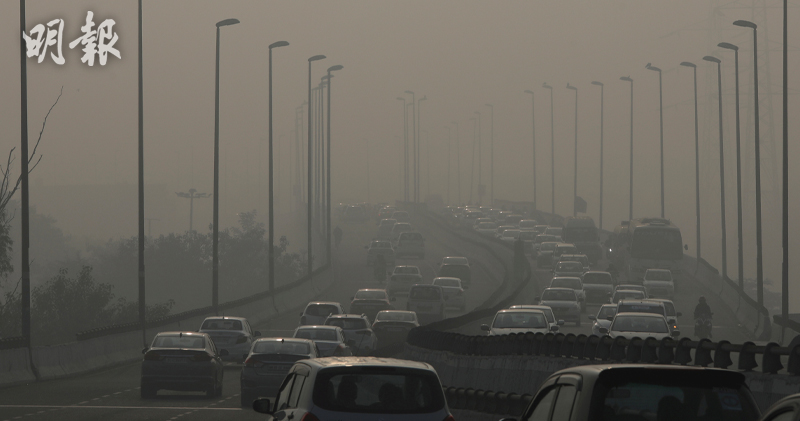 空氣污染單在歐洲每年導致79萬人提早死亡,全球死亡人數更高達880萬人。(路透社)
