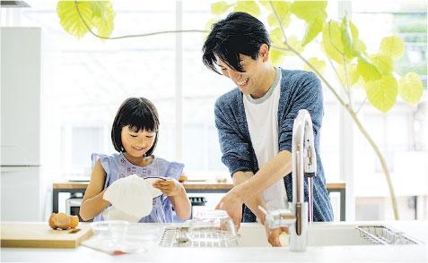 做家務好處——做家務有助減低心血管疾病風險。(Yagi-Studio@iStockphoto)