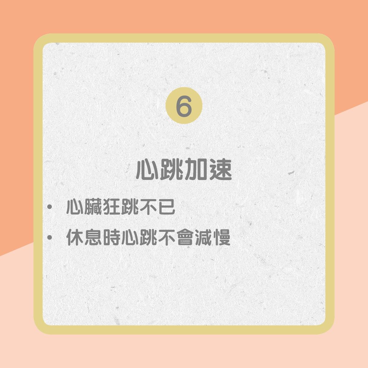 【心臟衰竭病徵】6. 心跳加速(01製圖)
