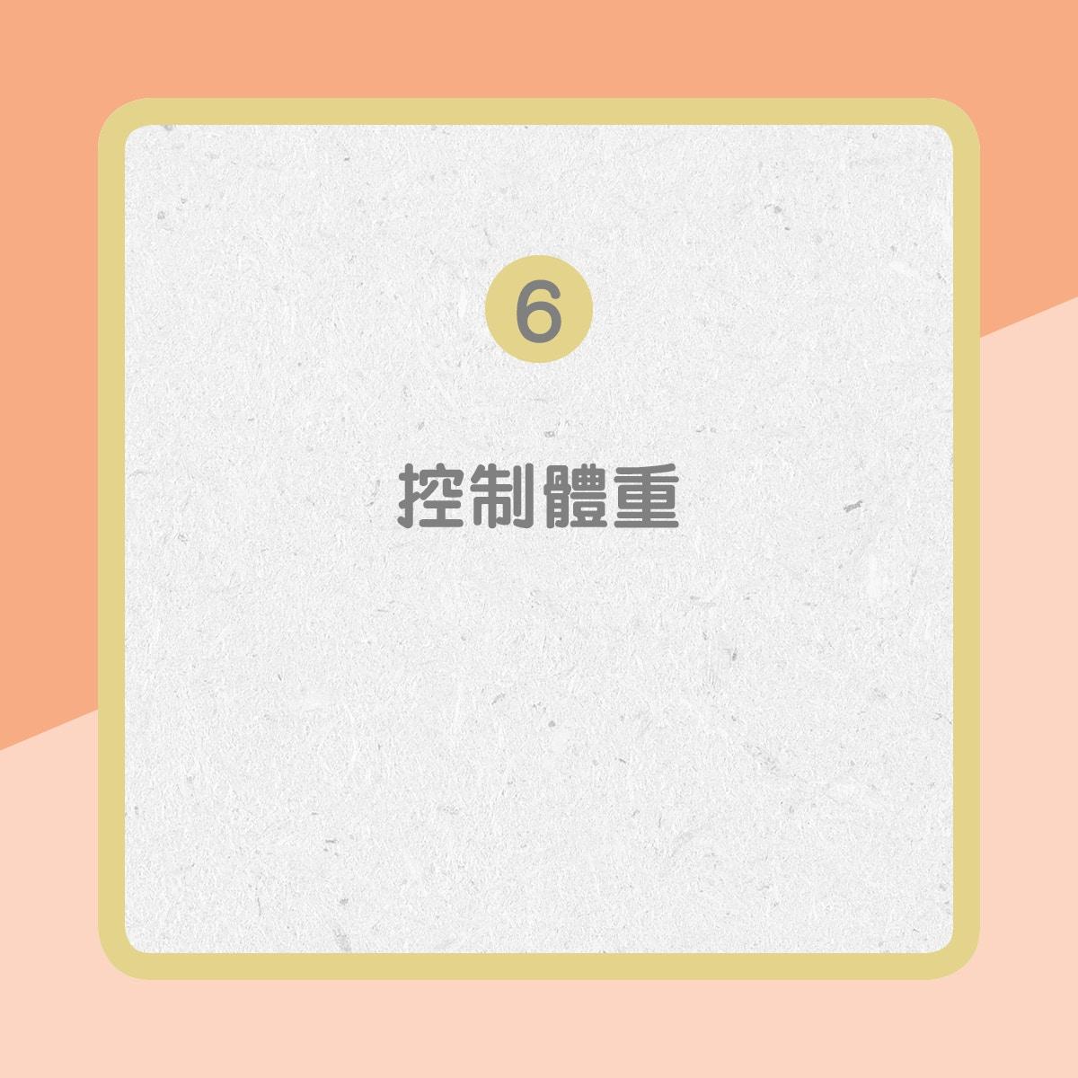 【心臟衰竭治療】6. 控制體重(01製圖)