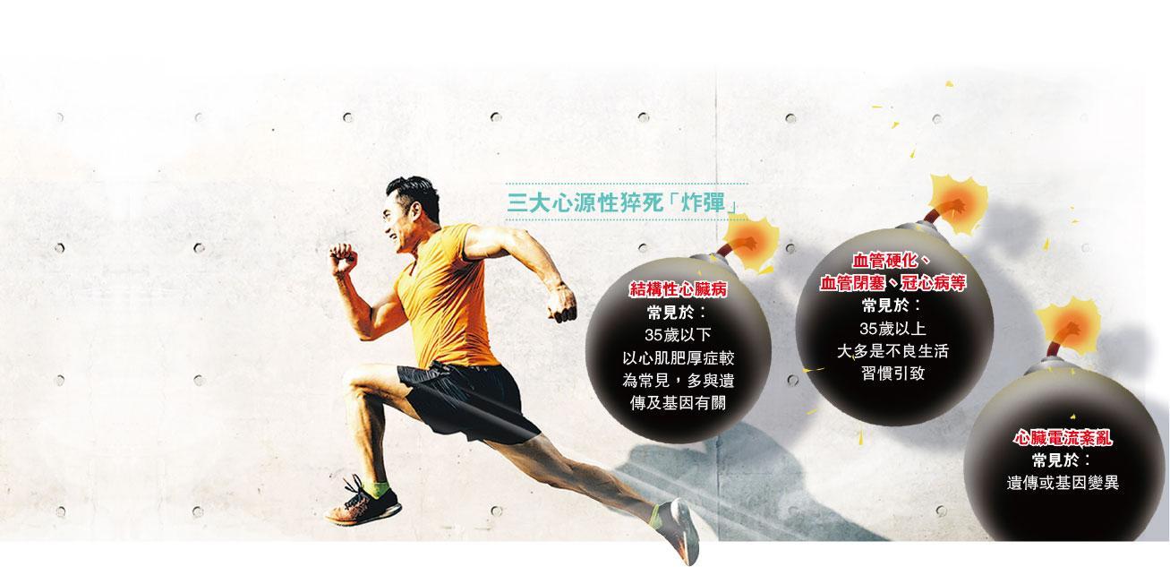 加重心臟負擔——競技運動、休息不足致過勞,都會增加壓力荷爾蒙,令心臟負擔更加大,容易猝死。(Asia-Pacific Images Studio@iStockphoto,設計圖片,模特兒跟內文所提疾病無關)