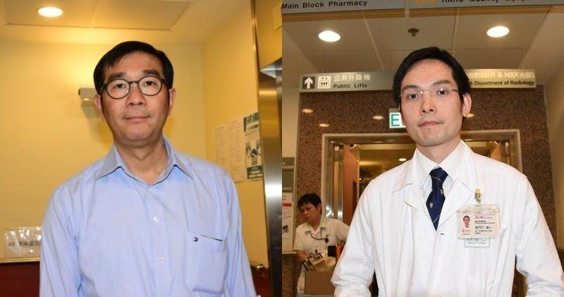 區永谷(左)、陳智仁(右)(資料圖片)