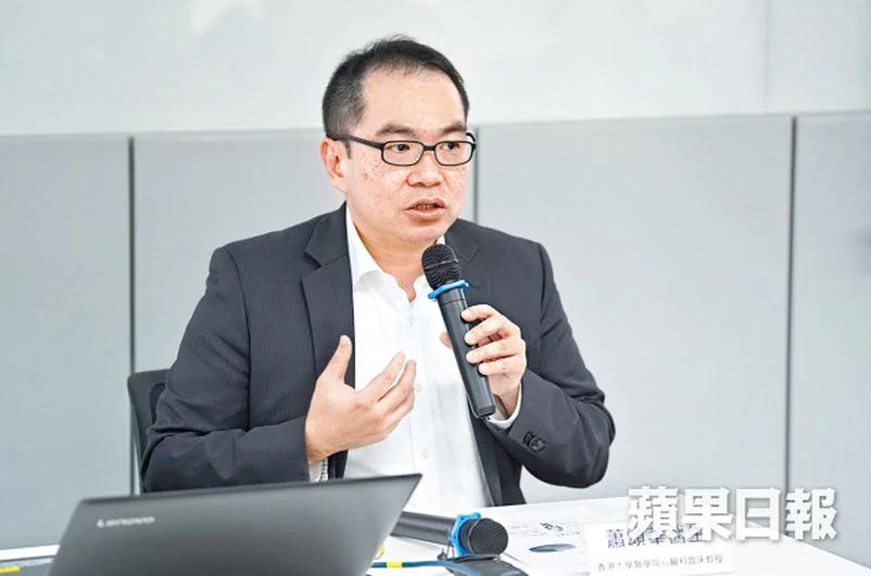 蕭頌華教授稱,本身患有心臟病或曾經中風的人士更容易感染流感。何家朗攝