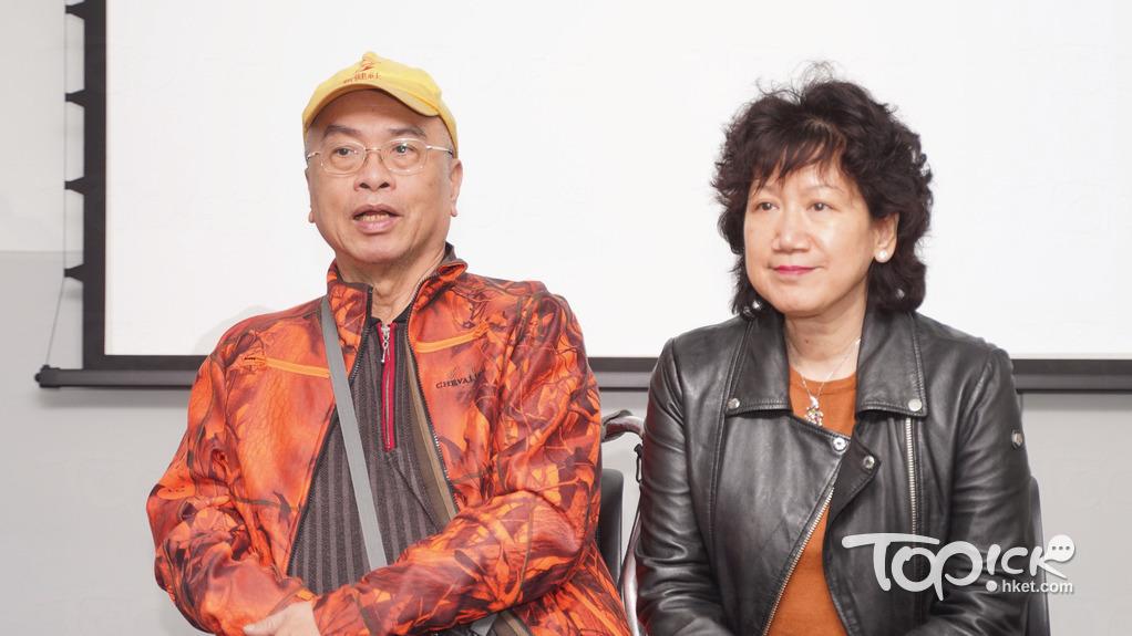 ▲ 67歲中風患者陳維理(左),三年前因患上流感需住院一個星期;右為其太太鳳兒。(林宇翔攝)