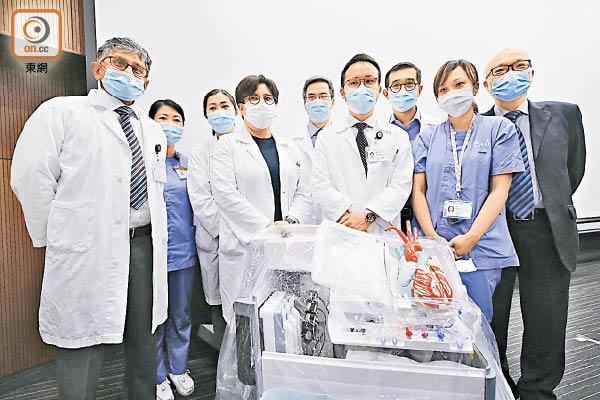 亞洲首宗 瑪麗新技術移植心臟