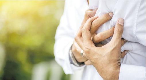 糖尿小心——心絞痛是心臟出現問題的警號,但也有一些是沒有明顯心絞痛徵狀,例如無徵狀心肌梗塞,多發生在糖尿病患者身上。(boonchai Wedmakawand@iStockphoto)