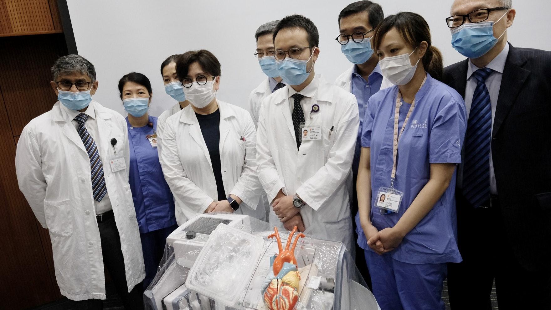 瑪麗醫院引入器官護養系統 移植「邊緣心臟」救人 成亞洲首例