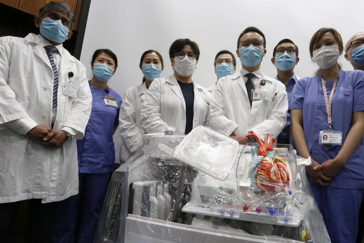 Hong Kong Doctors First In Asia To Perform Heart Transplant Using New Preservation Technology