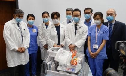 成功完成亞洲首宗 運用器官護養系統(OCS)的心臟移植手術 新聞發佈會