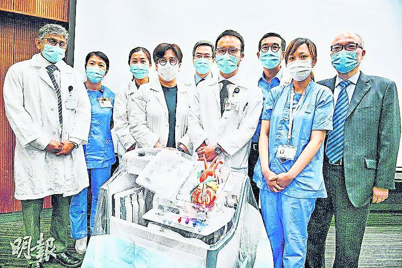 新儀器模擬人體生理狀態 心臟保鮮10小時