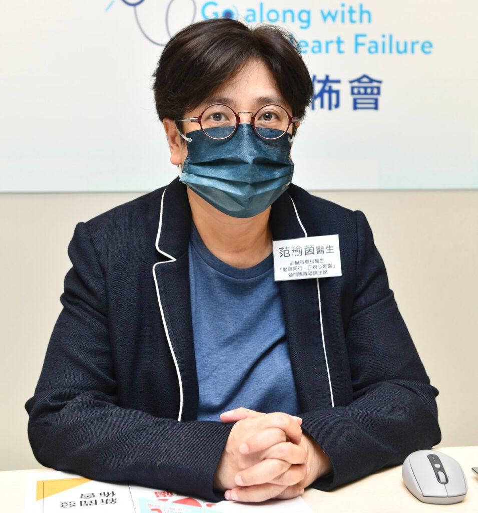范瑜茵醫生認為有迫切性推出相應措施助醫患攜手管理病情。